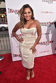 Singer Adrienne Bailon attends the premiere of New Line Cinema's 'Barbershop The Next Cut' at the TCL Chinese Theatre IMAX on April 6 2016 in...