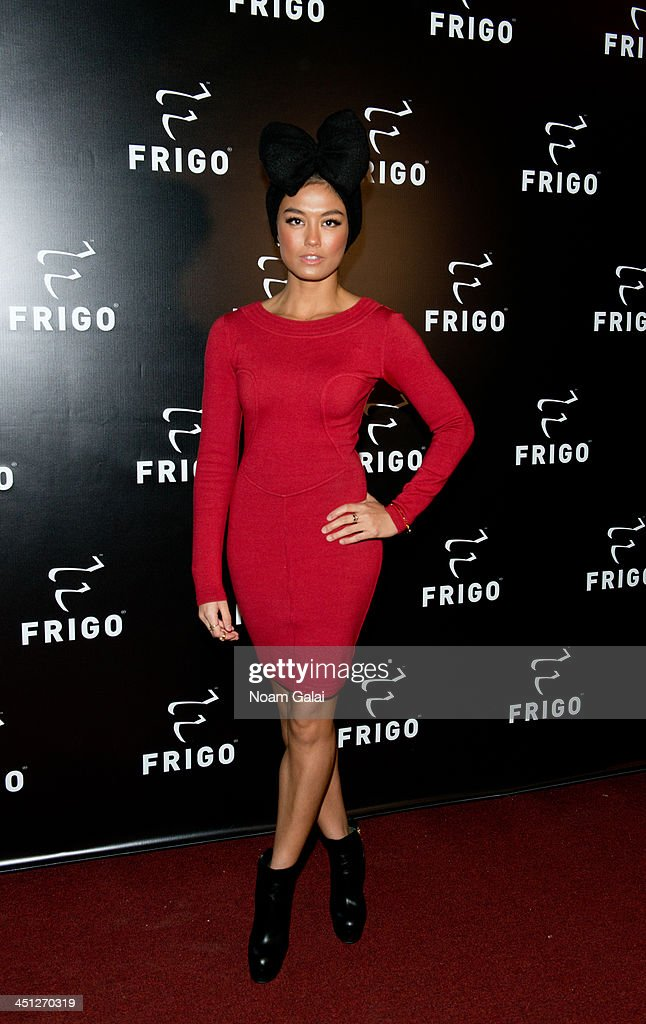 Singer Agnez Mo attends the launch party of the Frigo Pop-Up Store on November 21, 2013 in New York City.