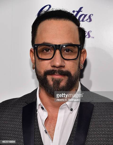 Singer AJ McLean attends the premiere of Gravitas Ventures' 'Backstreet Boys Show 'Em What You're Made Of' at on January 29 2015 in Hollywood...