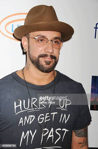 Singer AJ McLean attends the Stars Get Lucky For Lupus 6th Annual Poker Tournament at Avalon on September 18 2014 in Hollywood California