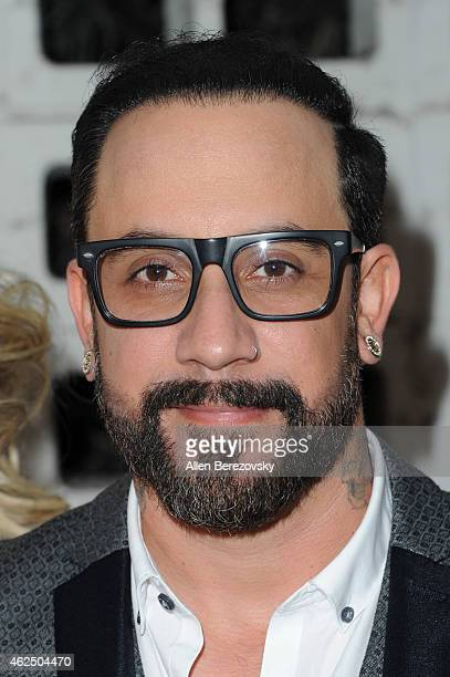 Singer AJ McLean of The Backstreet Boys attends the premiere of Gravitas Ventures' 'Backstreet Boys Show 'Em What You're Made Of' at ArcLight Cinemas...