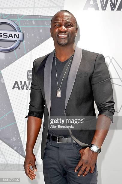 Singer Akon attends the 2016 BET Awards at Microsoft Theater on June 26 2016 in Los Angeles California