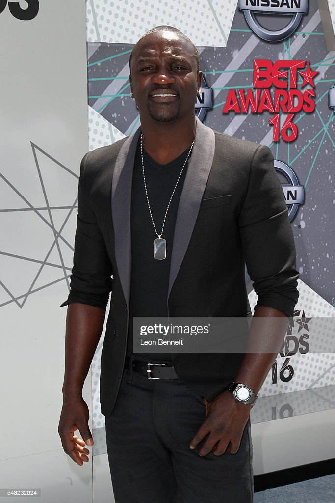 Singer <a gi-track='captionPersonalityLinkClicked' href=/galleries/search?phrase=Akon+-+Singer&family=editorial&specificpeople=2538597 ng-click='$event.stopPropagation()'>Akon</a> attends the Make A Wish VIP Experience at the 2016 BET Awards on June 26, 2016 in Los Angeles, California.