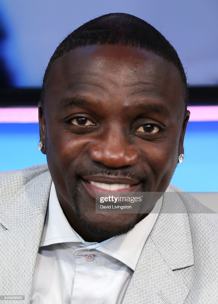 Singer <a gi-track='captionPersonalityLinkClicked' href=/galleries/search?phrase=Akon+-+Singer&family=editorial&specificpeople=2538597 ng-click='$event.stopPropagation()'>Akon</a> visits Hollywood Today Live at W Hollywood on June 27, 2016 in Hollywood, California.