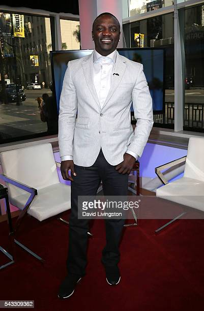Singer Akon visits Hollywood Today Live at W Hollywood on June 27 2016 in Hollywood California