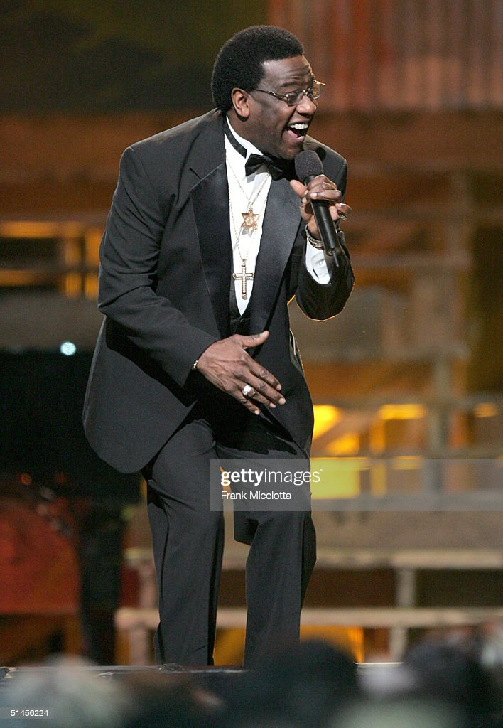 Singer Al Green performs 'What'd I Say' onstage at CBS' Ray Charles Tribute Concert at the Staples Center on October 8, 2004 in Los Angeles, California.