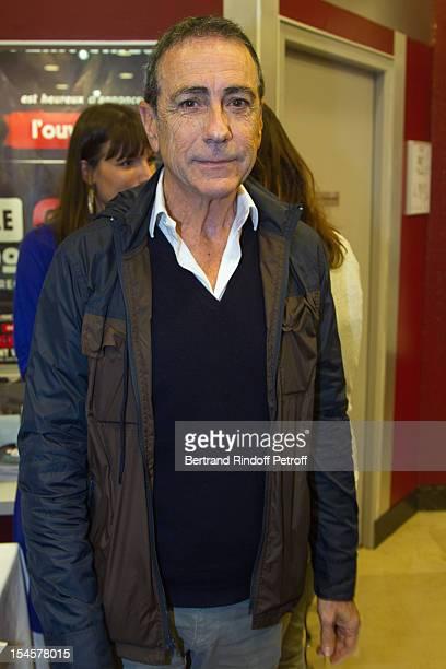 Singer Alain Chamfort at Theatre du Grand PointVirgule on October 22 2012 in Paris France