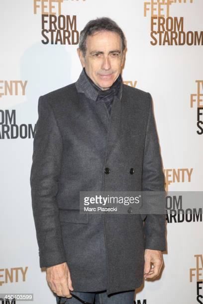 Singer Alain Chamfort attends the 'Twenty feet from stardom' Paris premiere at Cinema UGC Normandie on November 18 2013 in Paris France