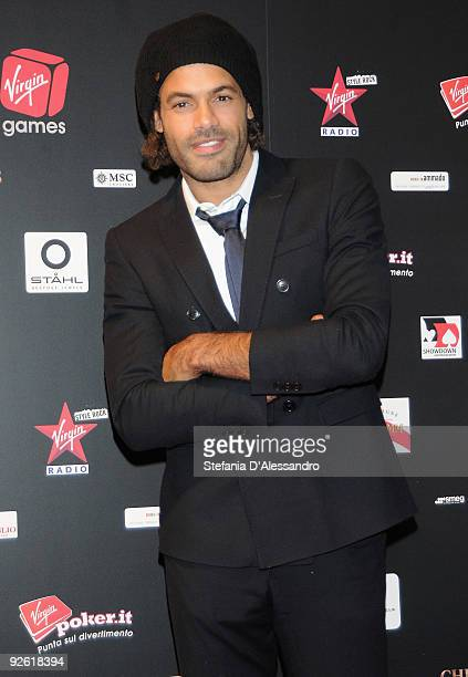 Singer Alain Clark attends the Virgin Games Charity Gala on November 2 2009 in Milan Italy