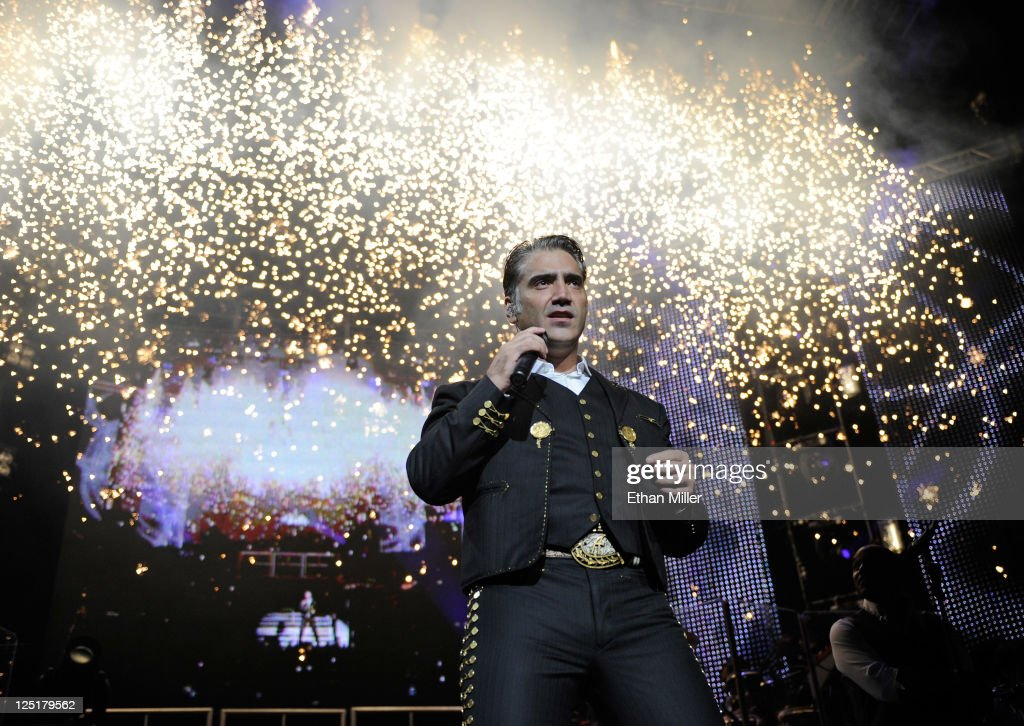 Alejandro Fernandez Performs At MGM Grand In Las Vegas