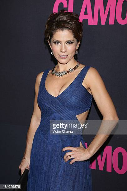 Singer Alessandra Rosaldo attends the Glamour Magazine 15th Anniversary at Casino Del Bosque on October 10 2013 in Mexico City Mexico