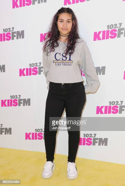 Singer Alessia Cara arrives at 1027 KIIS FM's 2017 Wango Tango at StubHub Center on May 13 2017 in Carson California