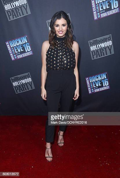 Singer Alessia Cara attends Dick Clark's New Year's Rockin' Eve with Ryan Seacrest 2016 on December 31 2015 in Los Angeles CA