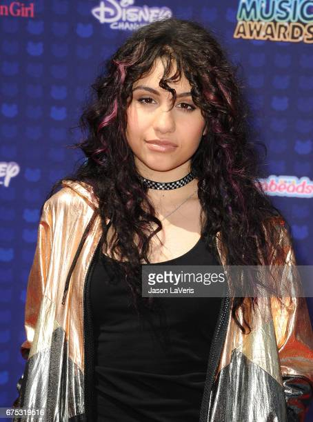 Singer Alessia Cara attends the 2017 Radio Disney Music Awards at Microsoft Theater on April 29 2017 in Los Angeles California