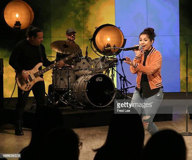 THE VIEW Singer Alessia Cara is the guest today Tuesday November 24 2015 on ABC's 'The View' 'The View' airs MondayFriday on the ABC Television...