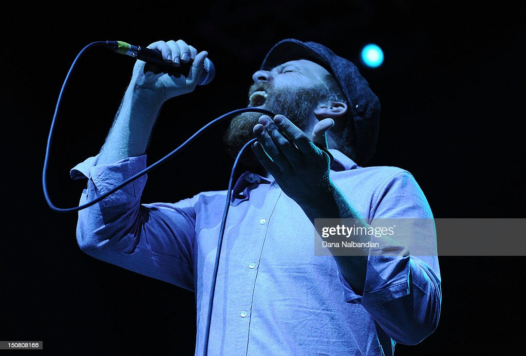 Singer Alex Clare performs at The End Summer Camp at Marymoor Amphitheater on August 25, 2012 in Redmond, Washington.