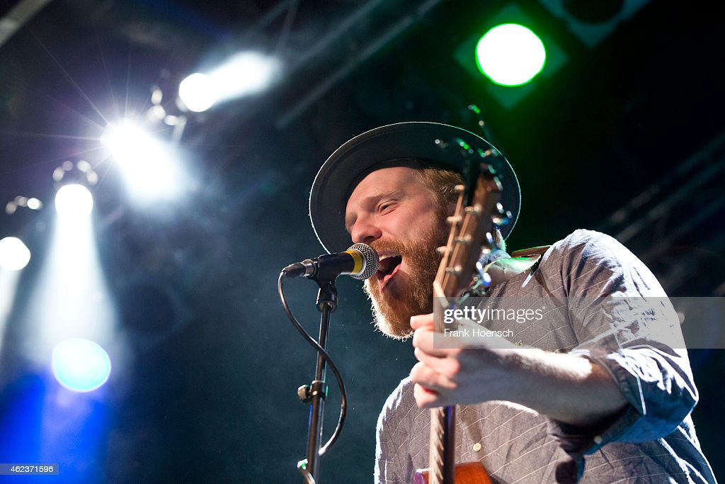 Singer Alex Clare performs live during a concert at the CClub on January 27 2015 in Berlin Germany