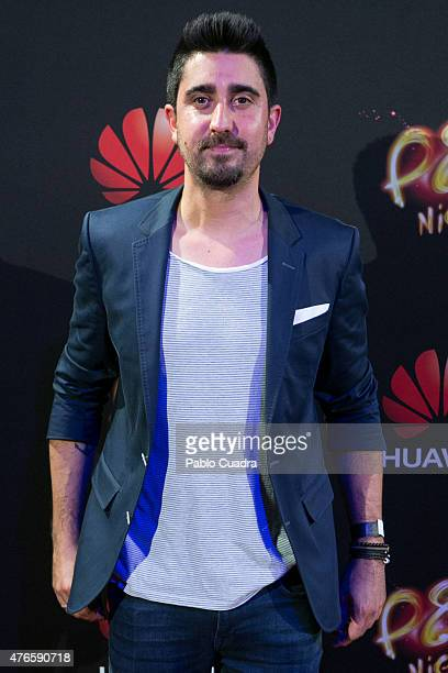 Singer Alex Ubago attends the Huawei P8 presentation party at Bodevil theatre on June 10 2015 in Madrid Spain