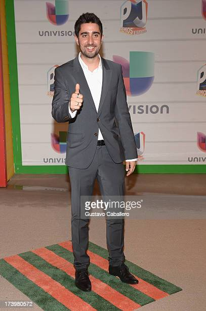 Singer Alex Ubago attends the Premios Juventud 2013 at Bank United Center on July 18 2013 in Miami Florida