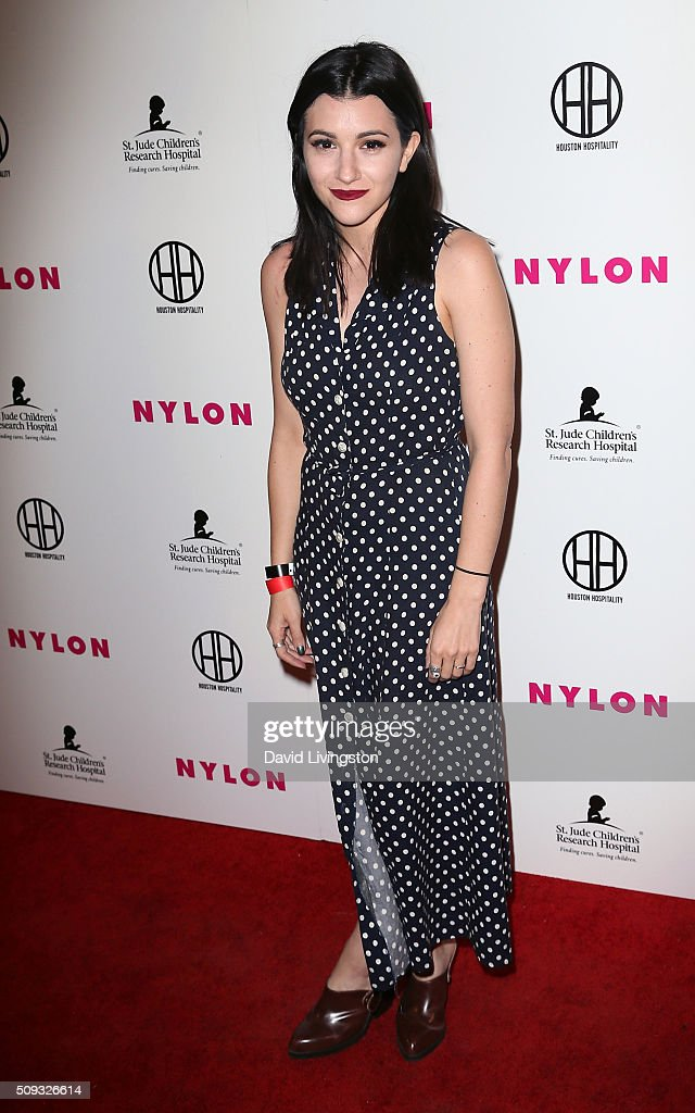 Singer Alex Winston attends the Muses and Music party hosted by NYLON Magazine at No Vacancy on February 9, 2016 in Los Angeles, California.