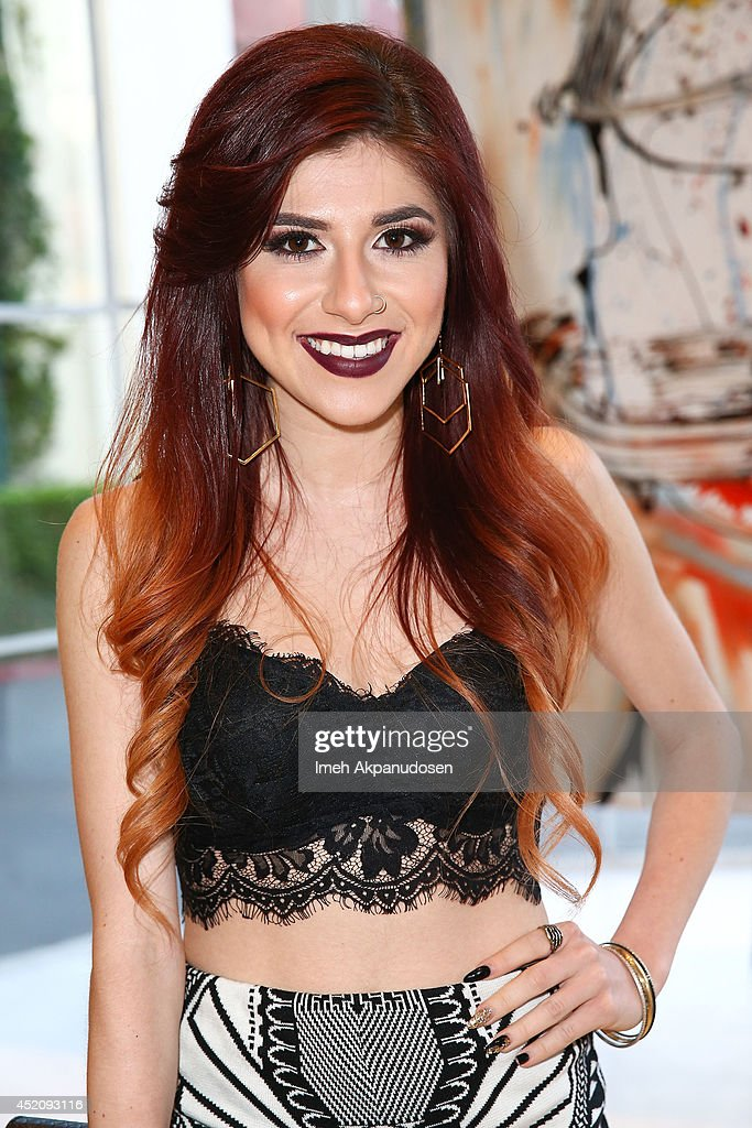 Singer Alexa Ferr attends a ZTPR Agency Summer Soiree at Gallerie Sparta on July 12, 2014 in West Hollywood, California.