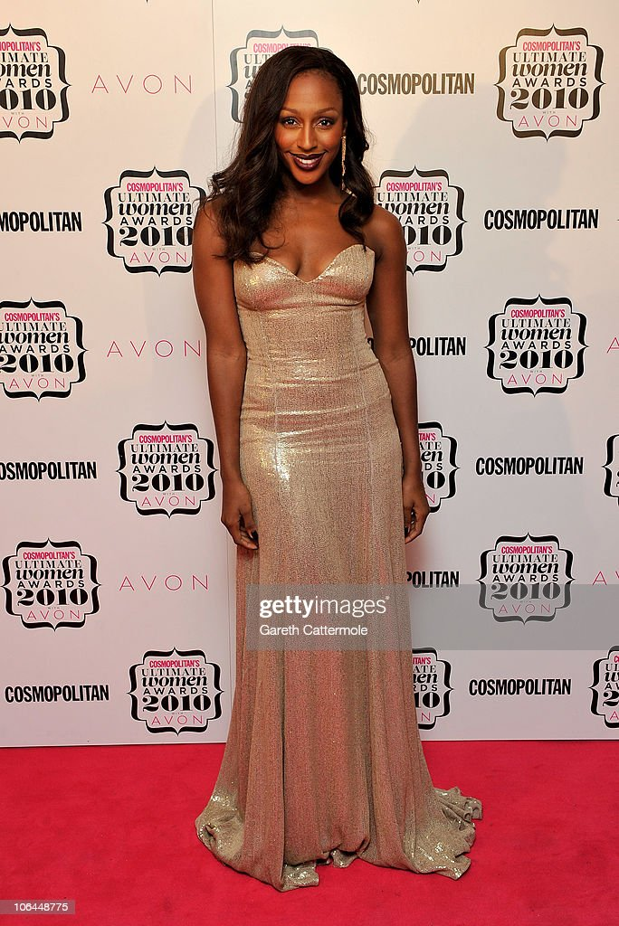 Singer Alexandra Burke arrives for the 'Cosmopolitan Ultimate Women Of The Year Awards 2010' at Banqueting House on November 2, 2010 in London, England.