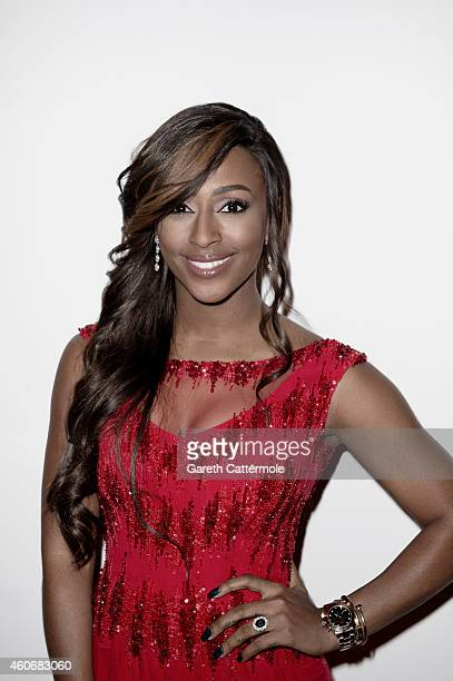 Singer Alexandra Burke is photographed at the 11th Annual Dubai International Film festival held at the Madinat Jumeriah Complex on December 14 2014...