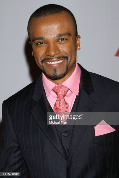 Singer Alexandre Pires attends the 2008 Latin Recording Academy Person of the Year Tribute to Gloria Estefan held at George R Brown Convention Center...