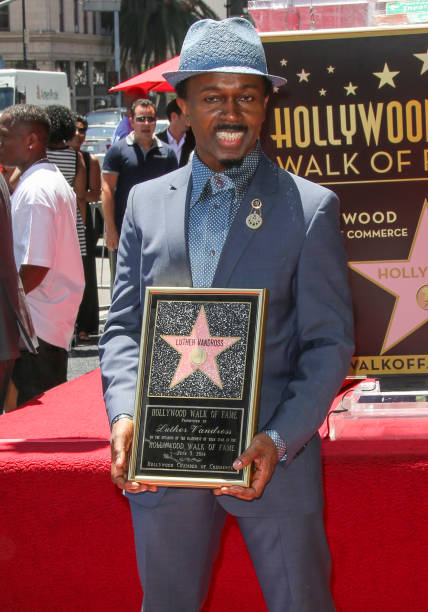 Luther Vandross Honored Posthumously On The Hollywood Walk Of Fame