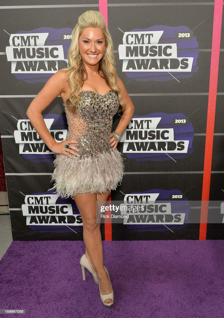 Singer Ali Dee attends the 2013 CMT Music awards at the Bridgestone Arena on June 5, 2013 in Nashville, Tennessee.