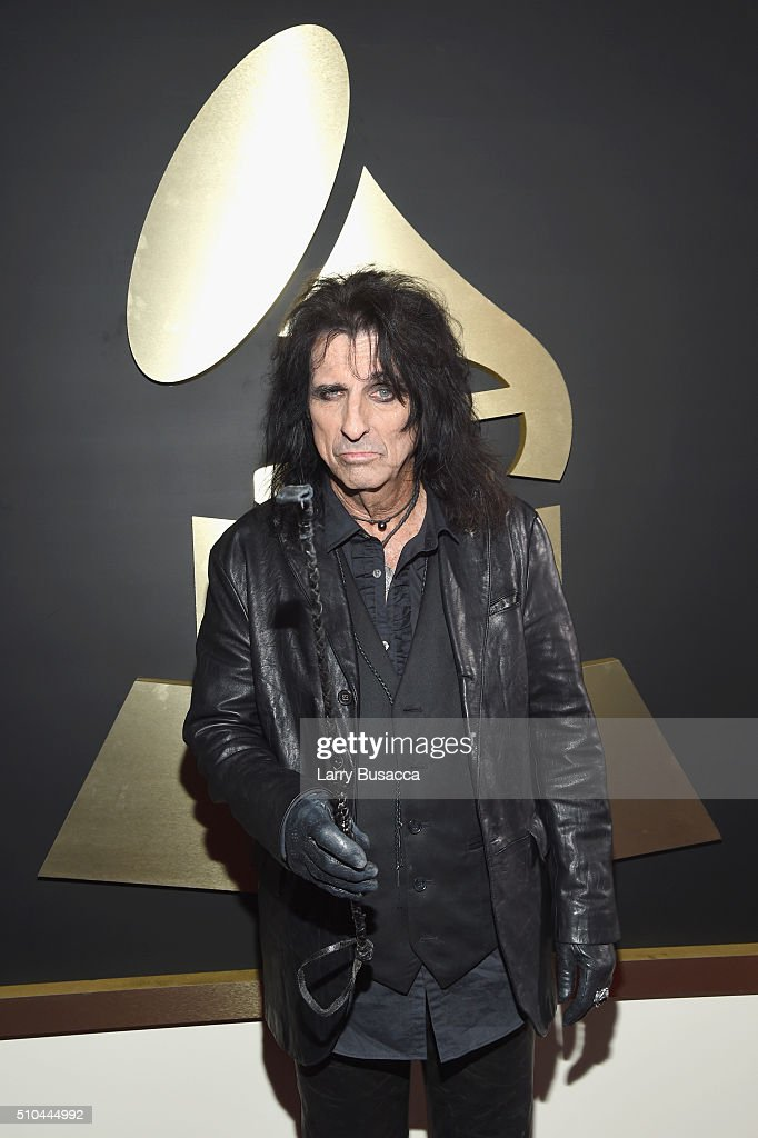 Singer Alice Cooper attends The 58th GRAMMY Awards at Staples Center on February 15, 2016 in Los Angeles, California.
