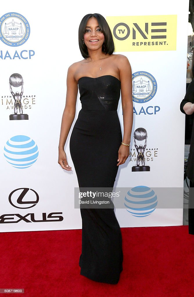 Singer Alice Smith attends the 47th NAACP Image Awards presented by TV One at Pasadena Civic Auditorium on February 5, 2016 in Pasadena, California.