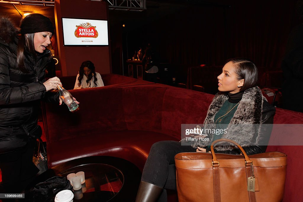 Singer Alicia Keys attends Day 1 of Tea of A Kind at Village At The Lift 2013 on January 18, 2013 in Park City, Utah.