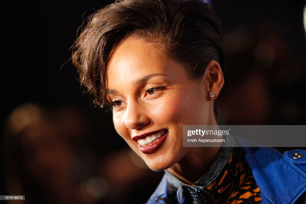 Singer Alicia Keys attends KIIS FM's 2012 Jingle Ball at Nokia Theatre L.A. Live on December 3, 2012 in Los Angeles, California.