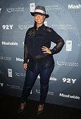 Singer Alicia Keys attends the 2014 Social Good Summit at 92Y on September 21 2014 in New York City