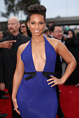 Singer Alicia Keys attends the 56th GRAMMY Awards at Staples Center on January 26 2014 in Los Angeles California