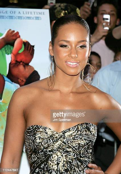 Singer Alicia Keys attends the 'We Are Together' premiere on June 12 2008 at the Director's Guild of America in New York