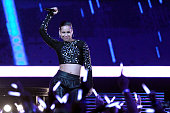 Singer Alicia Keys performs at half time the 2013 NBA AllStar game at the Toyota Center on February 17 2013 in Houston Texas NOTE TO USER User...