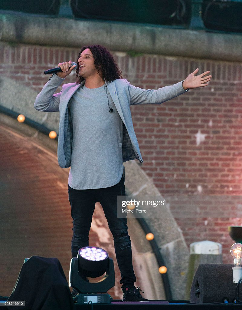 Singer Alie B performs during the Liberation Day Concert on May 5, 2016 in Amsterdam, Netherlands. Liberation Day (Dutch: Bevrijdingsdag) is celebrated each year on May the 5th to mark the end of the occupation by Nazi Germany during World War II.
