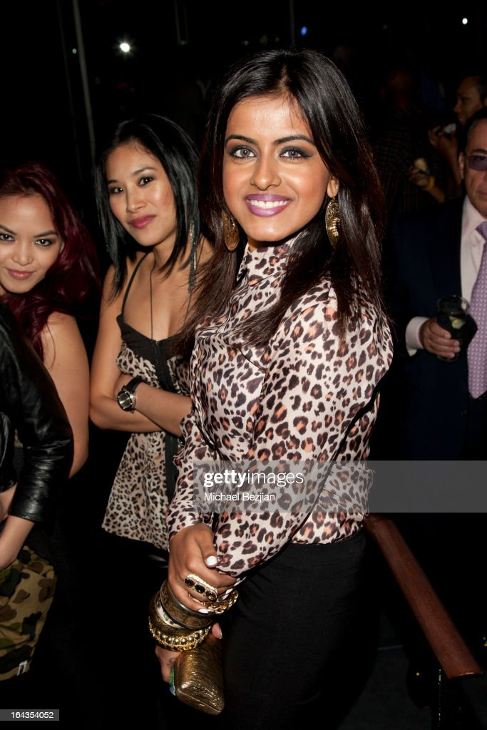 Singer Alisha Budhrani of 'Blush' attends 'Love Is Heroic' The Unlikely Heroes Annual Spring Benefit at W Hollywood on March 21, 2013 in Hollywood, California.