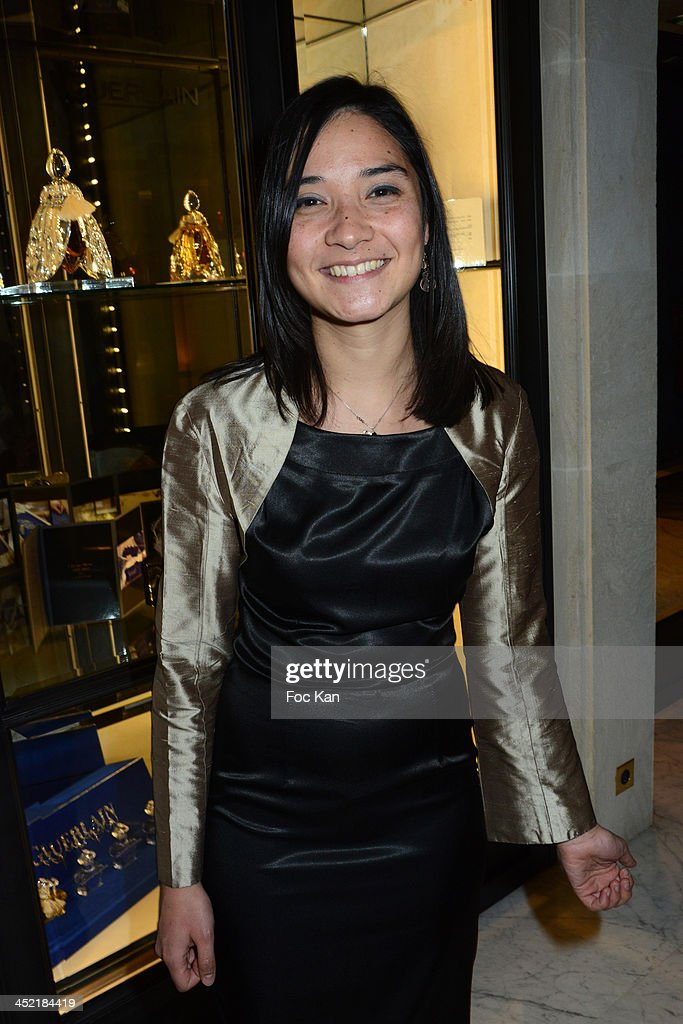 Singer Alix Hillen from the Joypopp band attends The Burgundy Hotel Compilation CD Launch Party on November 26, 2013 in Paris, France.
