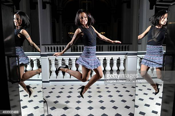 Singer Alizee is photographed for Paris Match on November 24 2013 in Paris France