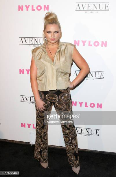 Singer Alli Simpson attends NYLON's Annual Young Hollywood May Issue Event at Avenue on May 2 2017 in Los Angeles California