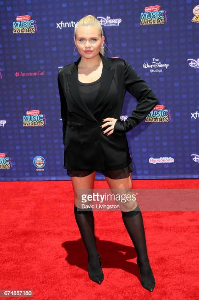 Singer Alli Simpson attends the 2017 Radio Disney Music Awards at Microsoft Theater on April 29 2017 in Los Angeles California