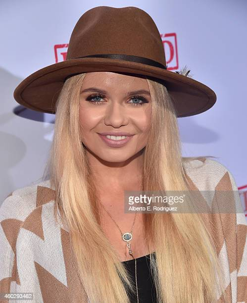 Singer Alli Simpson attends the premiere of Awesomeness TV's 'EXPELLED' at Westwood Village Theatre on December 10 2014 in Westwood California