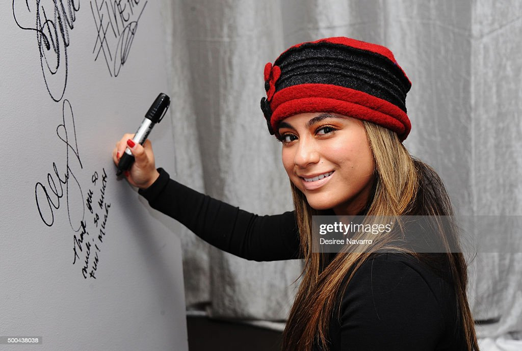 AOL Build Presents: Fifth Harmony Member Ally Brooke