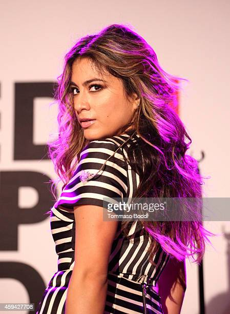 Singer Ally Brooke of '5th Harmony' performs at Red Carpet Radio presented by Westwood One at Nokia Theatre LA Live on November 22 2014 in Los...