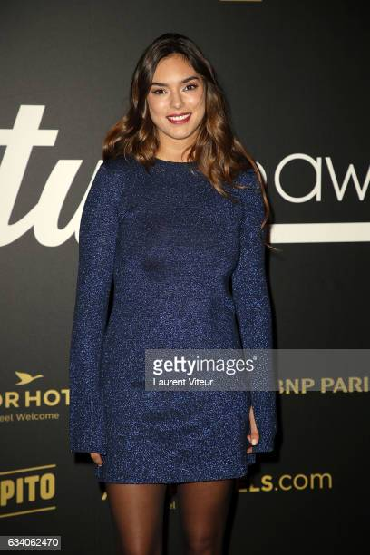 Singer Alma attends the '4th Melty Future Awards' at Le Grand Rex on February 6 2017 in Paris France