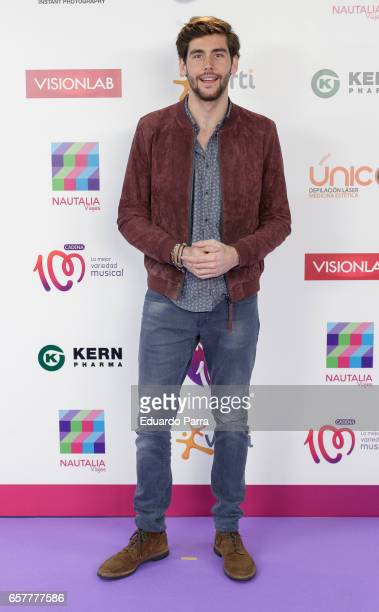 Singer Alvaro Soler attends the 'La Noche de Cadena 100' photocall at Wizink Center on March 25 2017 in Madrid Spain