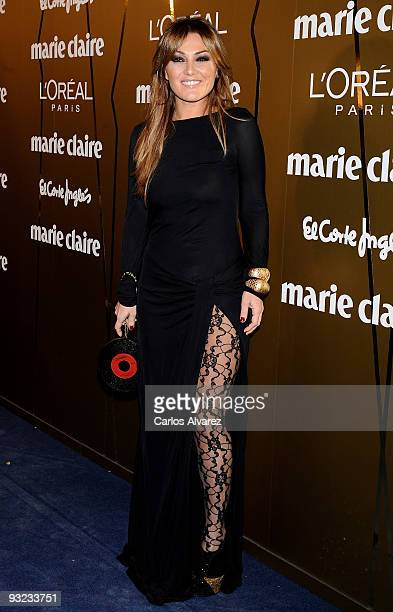 Singer Amaia Montero attends the 2009 Marie Claire Prix de la Moda awards at the French Embassy on November 19 2009 in Madrid Spain